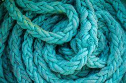 teal rope