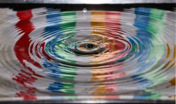 time lapse photography of water drop